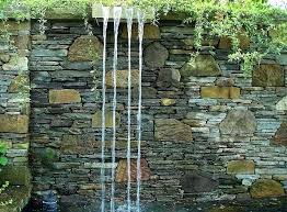 how to build a water feature wall home decor stone picture wall material nice designs good
