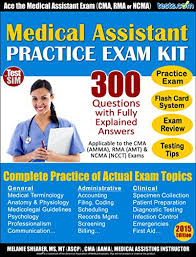 Amazon Com Medical Assistant Practice Exam Plus Online Flash Card