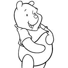 Disegno Di Winnie The Pooh Disney Da Colorare Per Bambini