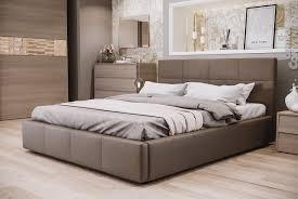 ATLANTE - Camera da letto in stile moderno colore olmo urbano