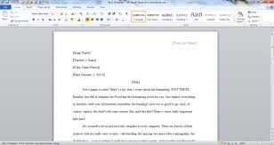 Mla Format Templates Download An Mla Template For Word 2010 The Hathix Blog
