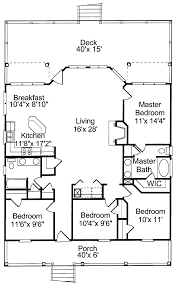 coastal cottage house plans. Southern House Plan First Floor - 024D-0003 | Plans And More Coastal Cottage