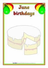 Sparklebox Birthday Charts Birthday Board Classroom Display Resources Printables