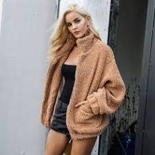 Women's Winter Coat Thicker Faux Lambswool Warm Oversized ...