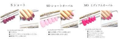 サイズサンプルチップ ネイルチップ通販ruru nail