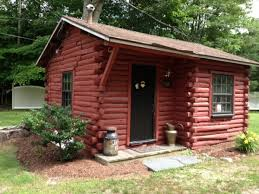 tiny house log cabin. Tiny Log Cabin Converted To An Office House L