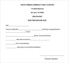 Doctors Absence Note Template - April.onthemarch.co