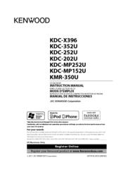 kenwood kdc 352u manuals