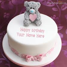 write name on teddy birthday cake picture hbd cake pinterest Birthday Cake Images With Name Rupali write name on teddy birthday cake picture Birthday Cakes with Name Edit