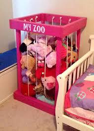 ON SALE stuffed animal storage - stuffed animal zoo - stuffed animals - toy  storage - kids room decor - toy organization - TOY Box - my zoo