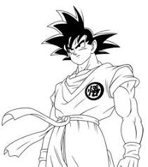 Small Picture Gohan with Zeta sword in Dragon Ball Z printable coloring page