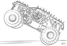 18 Best Monster Truck Coloring Pages Images In 2019