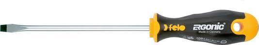 <b>Отвертка Felo</b>, <b>плоская</b>, <b>шлицевая</b>, 4,0 х 0,8 х 100 мм — купить в ...