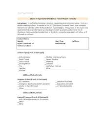 Incident Reporting Template Custom Incident System Report Template Computer Final Asctechco