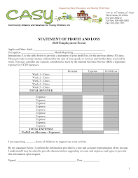 profit and loss account sample profit and loss statement template for small business and profit and