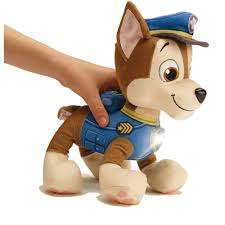 Paw Patrol Deluxe Lights And Sounds Plush Real Talking Rubble Paw Patrol Deluxe Lights And Sounds Plush Real Talking Chase