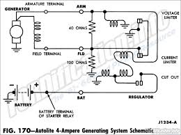 1963 ford truck wiring diagrams fordification info the '61 '66 Ford Tractor Wiring Diagram 1963 ford autolite 4 ampere generating system schematic
