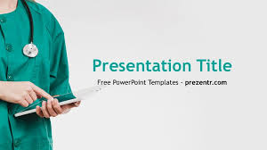 Free Nurse Powerpoint Template Prezentr Ppt Templates