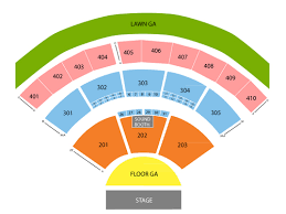 Molson Amphitheatre Seating Chart Viptix Com Budweiser Stage Tickets