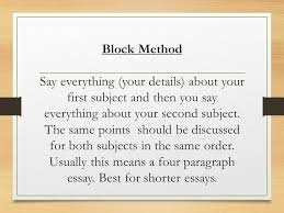 compare and contrast essay for compare and contrast essay ppt organization whether you decide to write about similarities or differences you will have to decide