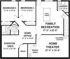 House Plan at FamilyHomePlans comHouse Plan Lower Level