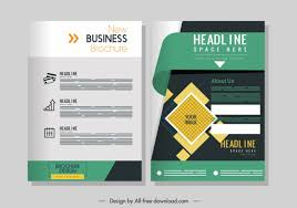 Ebrochure Template Publisher Brochure Template Free Vector Download 19 866