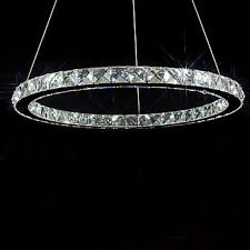 umei led bulb included crystal chandelier 40 leds fashionable round stainless steel plating 937895 2018 141 99