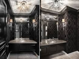 powder room furniture. View In Gallery Glamorous Powder Room Black And White [From: Orange Coast Interior Design] Furniture I