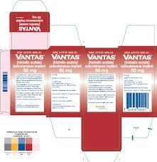 Vantas Implant Ndc 67979 500 Vantas Histrelin Acetate