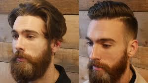 Extreme Modern Hair Beard Makeover Transformation Mens Haircut