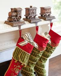 Our Train Stocking Holders set the scene for a delightful Christmas morning  with the whole family.
