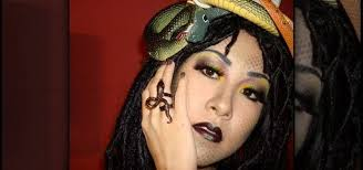 how to create a y medusa makeup look for makeup wonderhowto