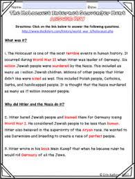 war ii holocaust internet scavenger hunt webquest activity world war ii holocaust internet scavenger hunt webquest activity