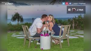 Patric schneider/associated pressshow moreshow less. J J Watt And Kealia Ohai To Get Married This Offseason Khou Com