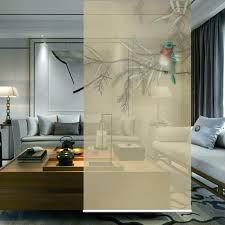 screen hanging wall panels entrance curtain soft partition stylish living