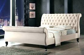 tufted upholstered sleigh bed. Beautiful Upholstered Upholstered Tufted Sleigh Bed Headboard  Home Decor   Throughout Tufted Upholstered Sleigh Bed