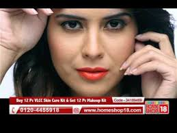 home18 12 pc vlcc skin care kit get 12 pc makeup kit by belle paris