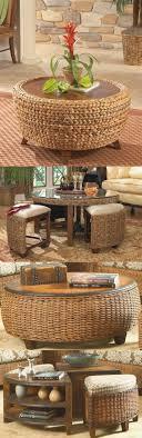 rattan side tables living room sensational best 25 rattan coffee table ideas on model
