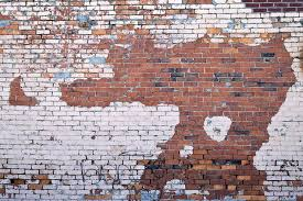 brown and white brick wall grunge wall