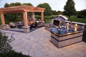 Backyard Designs With Pool And Outdoor Kitchen Custom Outdoor Kitchen Design Images Kitchenerartstk