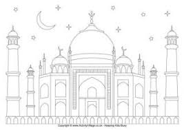 Ramadan Mubarak Coloring Pages Color Bros