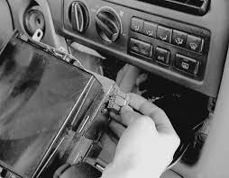 repair guides entertainment systems radio receiver tape player Wire Harness Tape Autozone disconnect the wiring harness from the back of the radio, along with the antenna lead Automotive Wire Harness Wrapping Tape