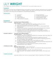 show me sample resume