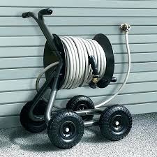 garden hose reel cart portable outside costco metal hos