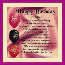 Happy Birthday To My Niece Quotes Impressive Birthday Wishes For My Niece Photo Happy Birthday Quotes To My Niece