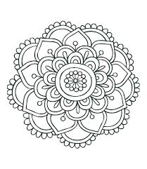 free easy coloring pages printable easy mandala coloring pages printable to color free page mandalas for