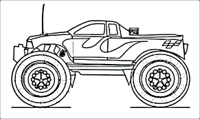 Grave Digger Color Pages Grave Digger Coloring Page Grave Digger