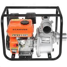 <b>Мотопомпа Carver CGP 6080</b> (4-х тактн., 5,2 кВт/7,0 л.с., вх/вых.- 3 ...
