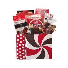 birthday swirls gift basket