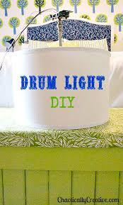 diy drum light